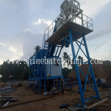 40 Portable Concrete Mixing Plant