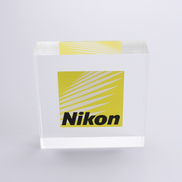 Personalized Customized Acrylic Block With Words
