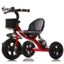 ODM for Baby Tricycle Red Black Baby Tricycle with 3 Wheels export to Indonesia Factory