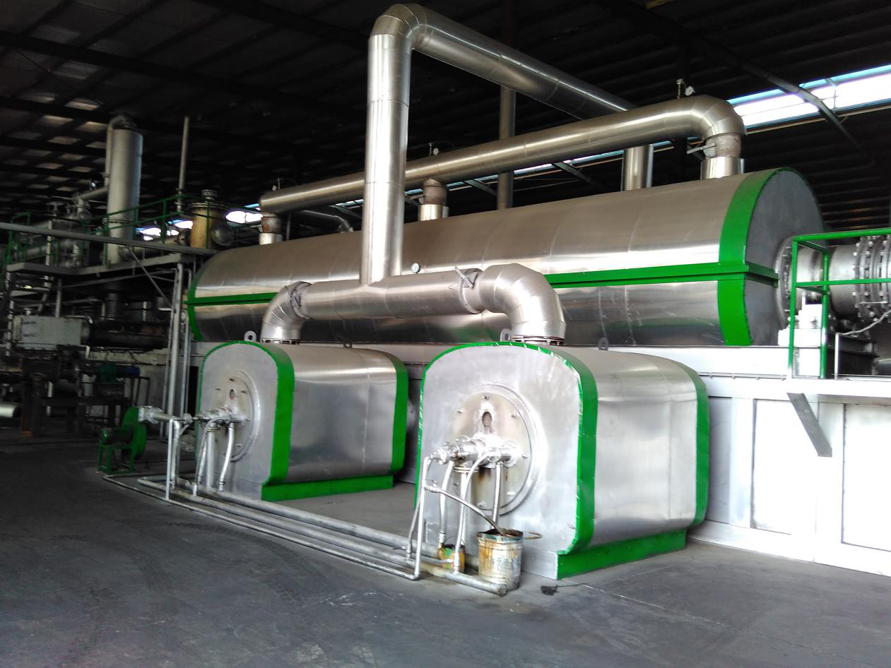 China Continuous Waste Plastic Pyrolysis Plant, Continuous