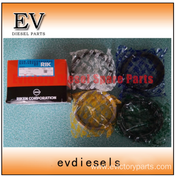 HINO engine parts piston EK100 piston ring
