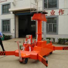 China for Telescopic Hoist 12m Portable Adjustable Cleaning Work Elevator Platform export to Guam Importers