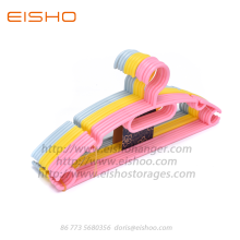 EISHO Anti-slip Closet Plastic Hangers For Suit
