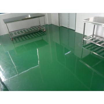 Workshop epoxy anti-static thin coating finish