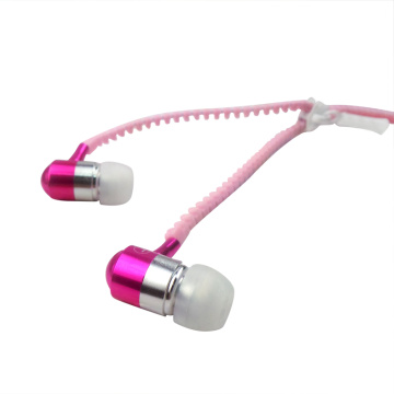 OEM ODM Metal Zipper Stereo In-Ear-Ohrhörer