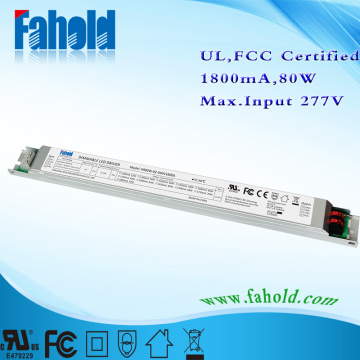OEM/ODM for High Distance Lights Driver Supermarket Lighting Troffer&linear LED Driver supply to United States Manufacturer