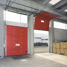 I-Automatic Sectional Overhead Garage Door ne-Windows
