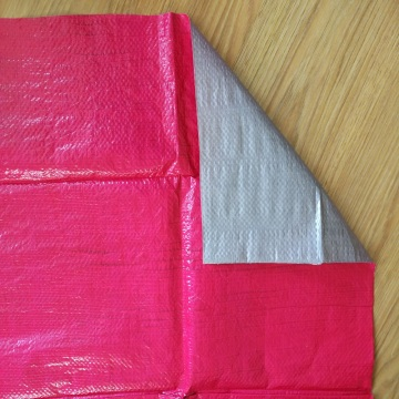 Red Waterproof PE Tarpaulin