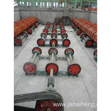 Double Wheel Spinning Machine