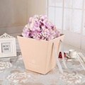 Wedding Flower Bouquet Boxes with Plastic Buckets