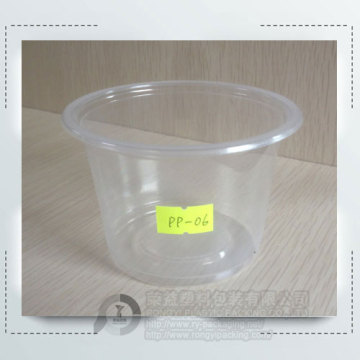 High quality disposable plastic ice-cream cup