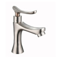 Commercial Stainless Steel  Single Handle Bathroom Faucet