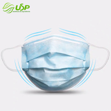 3 layers nonwoven sergical medical protective face mask