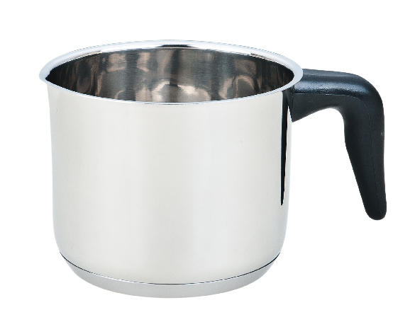 Milk Pot with Black Bakelite Handle