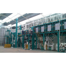 100 ton per day maize/corn flour milling machine