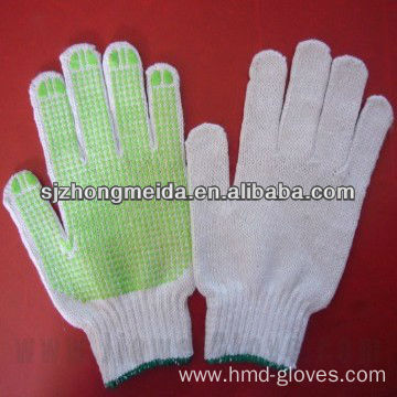 Work Safety String Knitted Cotton White Cotton Gloves