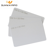 Low Cost for RFID White Card Proximity 13.56MHz I CODE SLI-S RFID Smart Card supply to Papua New Guinea Manufacturers