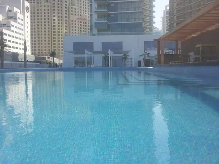 Clearing in Swimming Pool
