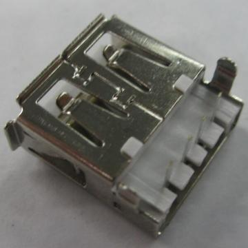 USB2.0 A Female Receptacle Angle Sink Dip