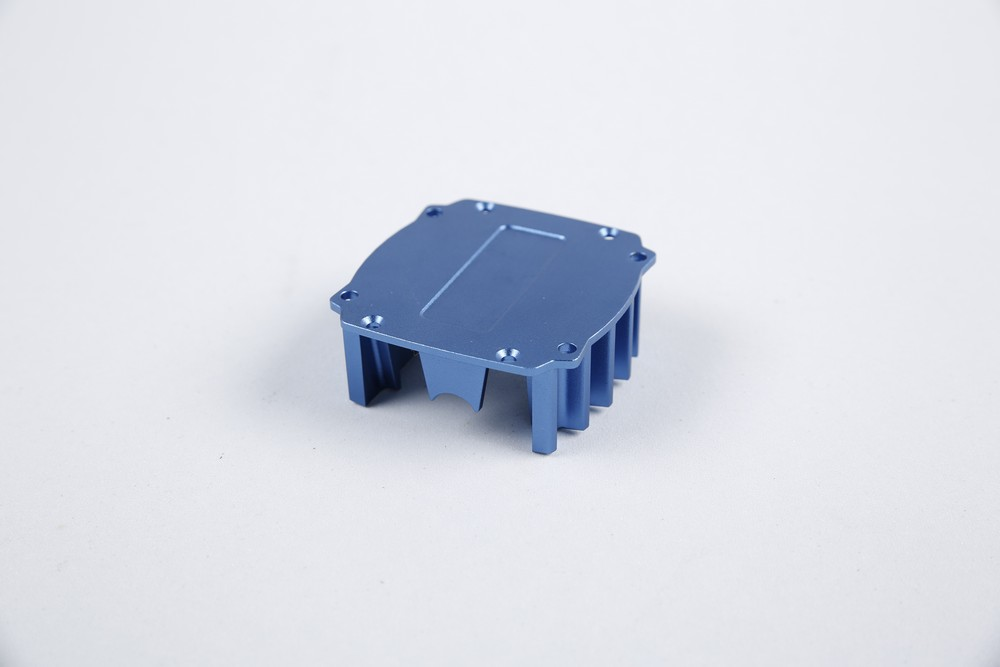 CNC Milling Housing With Blue Anodize