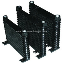 Hot Selling for Auto Transmission Coolers 32mm Thick Black Engine Racing Auto Oil Cooler supply to Brazil Factory