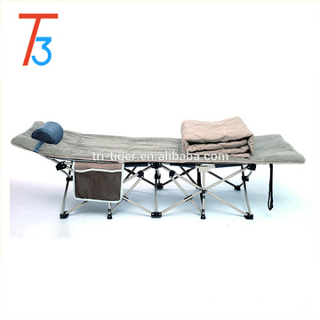 Lightweight Single Portable Metal Cheap Price Of Folding Bed /chair