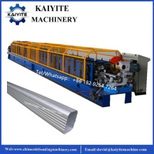Rain Gutter Square Downspout Pipe Forming Machine