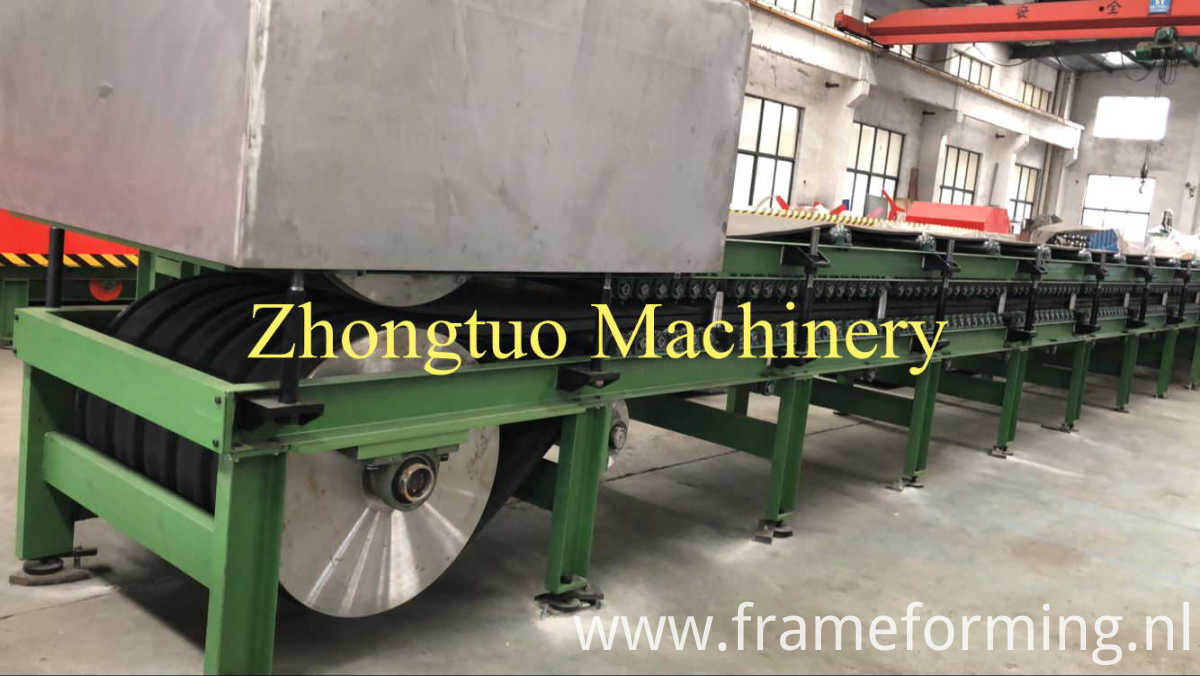Trisomet 333 Insulated Panels making machine