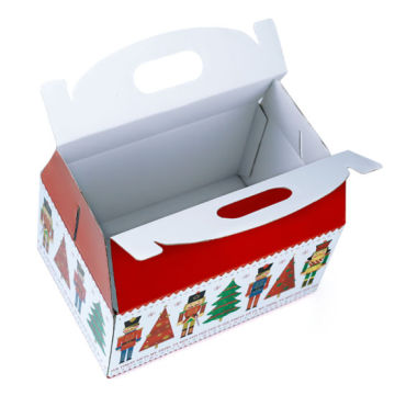 Custom Luxury Full Color Printing Christmas Paper Box