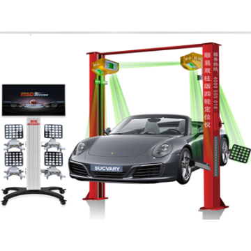 Wheel Alignment With Touch Screen