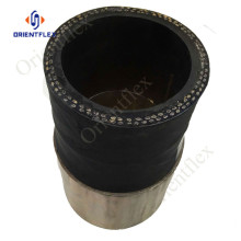 concrete pump placement rubber hose