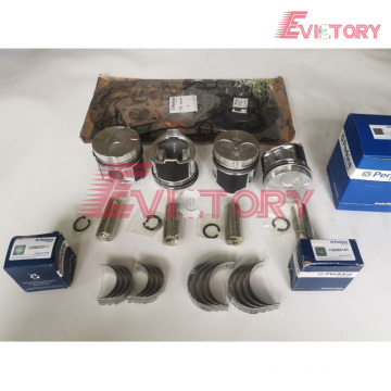 excavator 404C engine gasket bearing piston ring liner