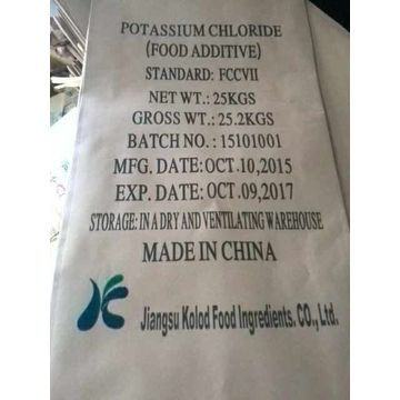 Potassium Chloride food additive FCC VII standar