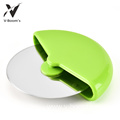 Plastic Hold Stainless Steel Wheel Pizza Cutter