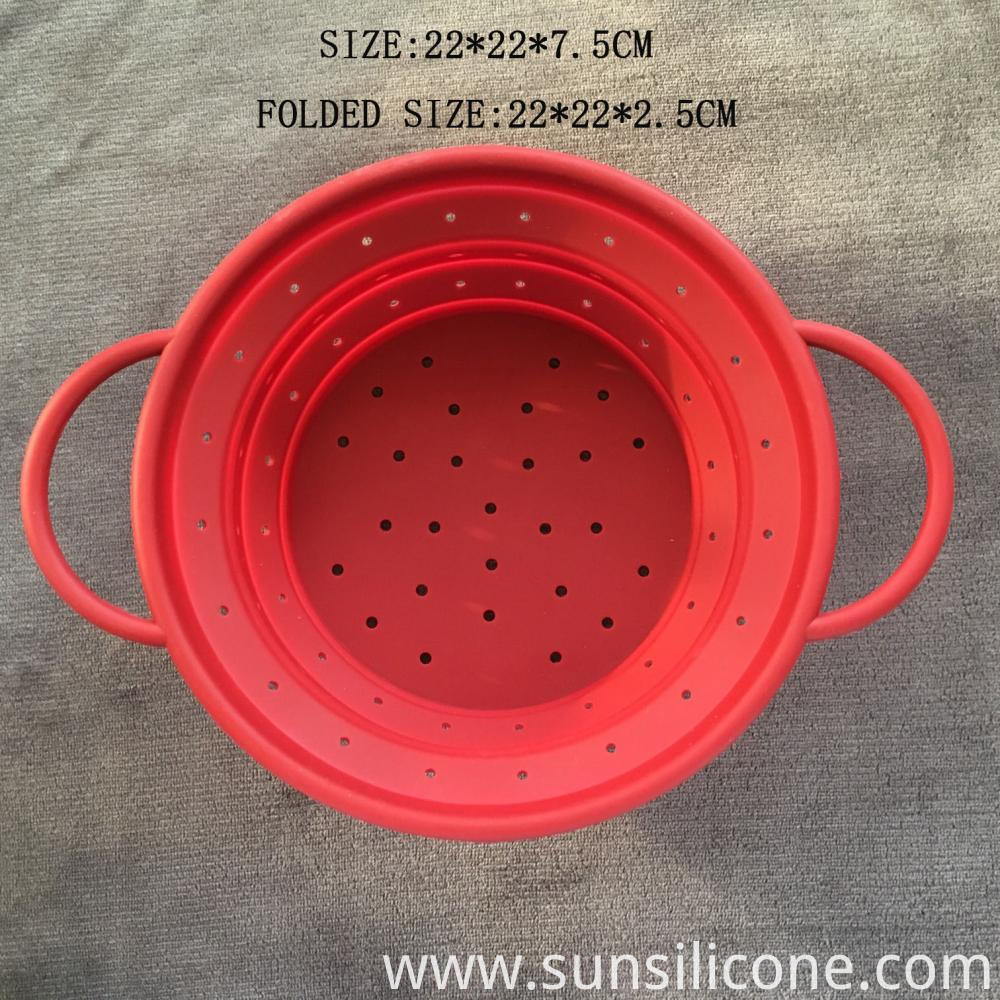 Silicone Collapsible Fruit Basket