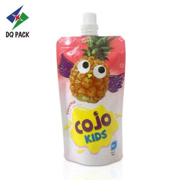 Juice pouches with spout Aluminum Food grade material