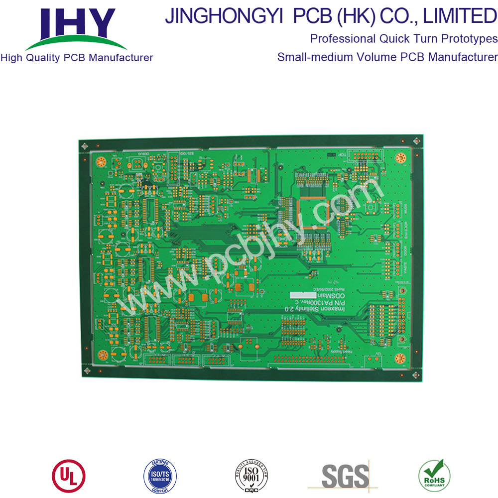 Immersion Gold 2.0mm 1oz 6 Layer PCB