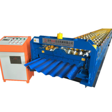 Automatic single sheet corrugated roll forming machine