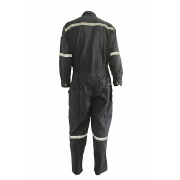 Black High Visibility FR Coverall
