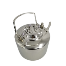 Stainless steel beer can Pin lock
