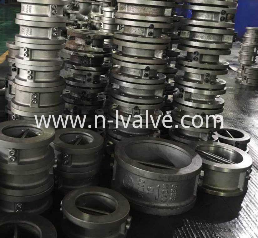 Wafer Dual plate Check Valve