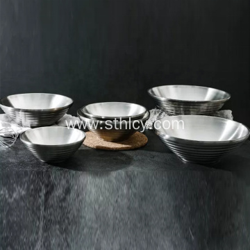 304 Stainless Steel Double Insulated Mixing Bowl