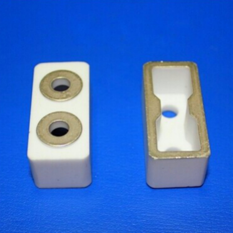 2 pin metallized ceramic insulator