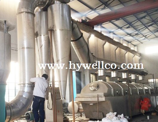 Salt Drying Machine-ZLG Vibration Fluid Bed Dryer