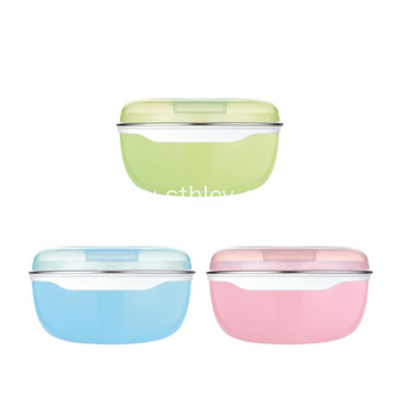 304 Stainless Steel Children's Lunch Box Snack Box