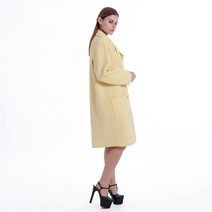 New yellow cashmere winter clothes