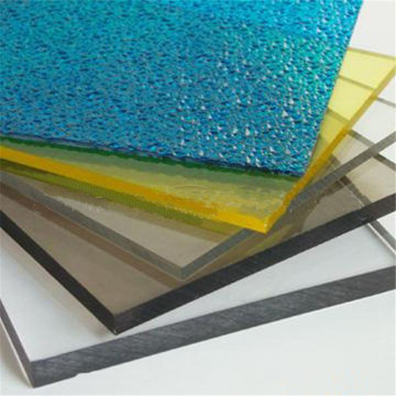 Coated Sunshade Roof Uv Coating Polycarbonate Solid Sheet