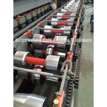 Roof Top Ridge Cap Roll Forming Machinery