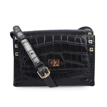 Classic 2019 New Fashion Crocodile Small Crossbody Bags