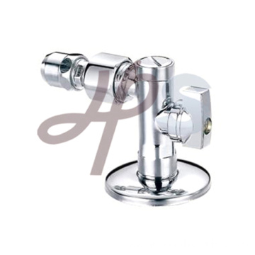 Brass angle type valve for bathroom